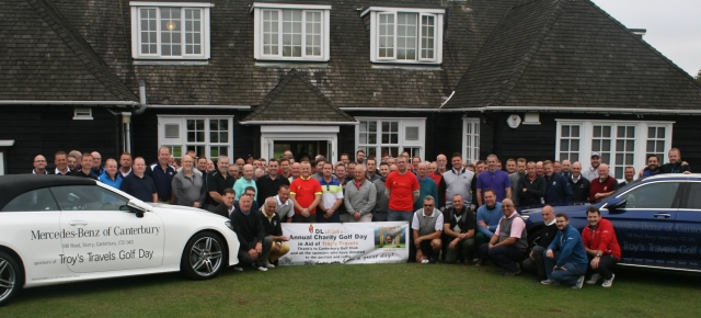 dickie leitch charity golf day canterbury