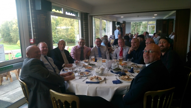 st stephens members attending dickie leitches charity day