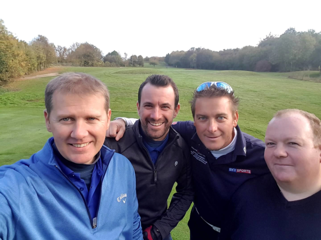 L/R Paul Sequenza, Kevin Mullins, Antony Back, Andy Oxberry